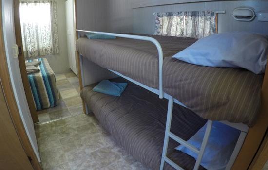 Kestral cabin bedroom