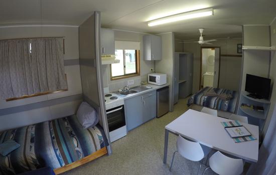 Ensuite family cabin