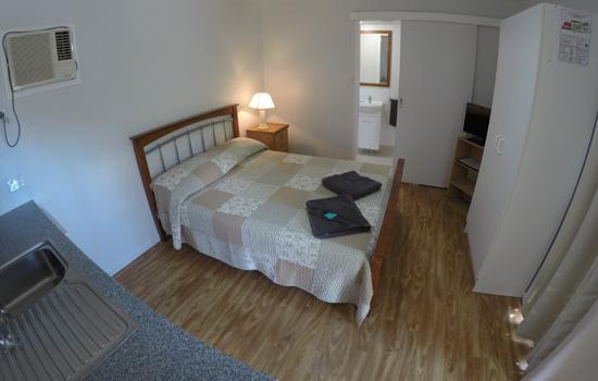 Twin cabin bedroom